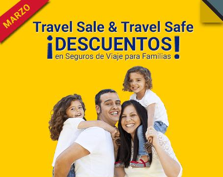 descuento seguros de viaje para familias