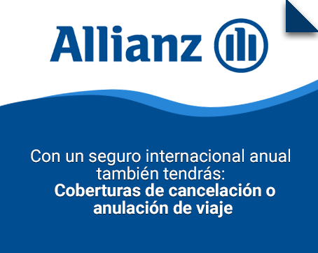 seguro internacional anual allianz global assistance